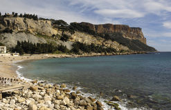 Beach of Cassis, French Riviera Royalty Free Stock Image