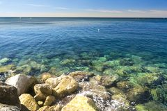 Cassis beach Royalty Free Stock Image