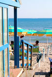 Beach on Castiglione della Pescaia Royalty Free Stock Photography