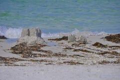 Beach Castles Stock Photos