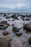 Beach Catham Bay royalty free stock images