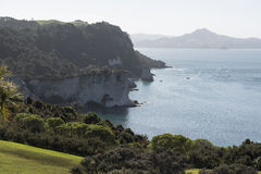 Beach of Cathedral Cove, New Zealand Royalty Free Stock Image