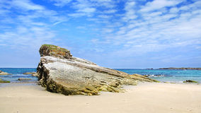Beach of the Cathedrals. Spain Stock Image
