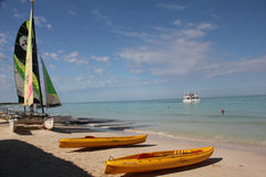 Beach in Cayo Coco, Cuba Stock Images