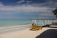Beach in Cayo Coco, Cuba Stock Photos
