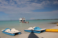 Beach in Cayo Coco, Cuba Stock Image