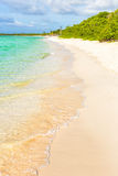 The beach at Cayo Coco in Cuba Stock Images