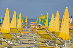 Beach in Cervia  10 Royalty Free Stock Images