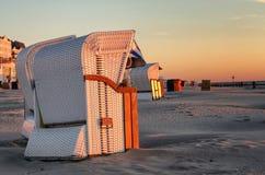 Beach_chair fotografia de stock
