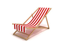 Beach chair Royalty Free Stock Photography
