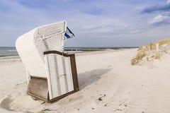 Beach chair Baltic Sea Royalty Free Stock Photo