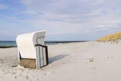 Beach chair Baltic Sea Royalty Free Stock Image