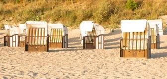 Beach Chair - Baltic Sea - Usedom Island stock photos