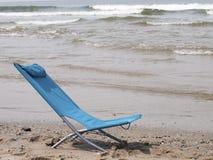 Beach chair on the beach Stock Photography