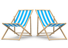 The beach chair Stock Photo