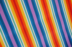 Beach Chair Fabric Royalty Free Stock Photography