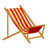 Beach Chair isolated illustration Stock Photography