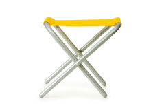 Beach chair isolated on the white. Background Royalty Free Stock Photography