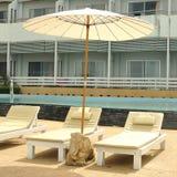 Beach Chair On The Beach Royalty Free Stock Photography