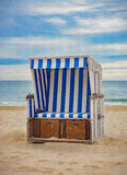 Beach chair - painting Stock Images