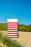 Beach chair at the sea Royalty Free Stock Images