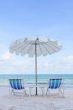 Beach Chair Royalty Free Stock Photos