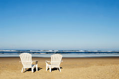 Free Beach Chairs Stock Photography - 12110082