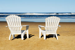 Free Beach Chairs Stock Images - 18811264