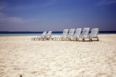 Free Beach Chairs Royalty Free Stock Photos - 18849598
