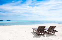 Free Beach Chairs Royalty Free Stock Photography - 19650147