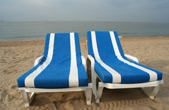 Free Beach Chairs Stock Images - 254804