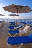 Beach Chairs royalty free stock photos