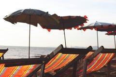 Beach Chairs Stock Image