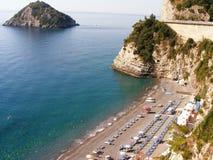 Ligurian Beach Stock Photography