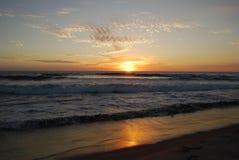 Beach in Chiapas stock photo