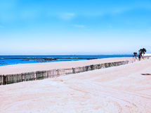 Beach of Chipiona in Cadiz. Andalusia. Spain Royalty Free Stock Photography