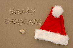 A Beach Christmas Stock Photography