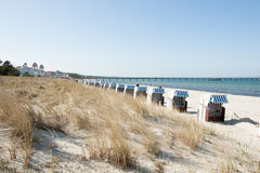 Beach Cities Binz in Germany Royalty Free Stock Photos