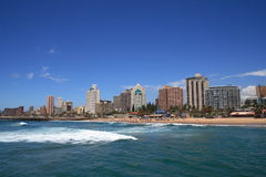 Beach city. Durban city beach view, south africa Royalty Free Stock Photography