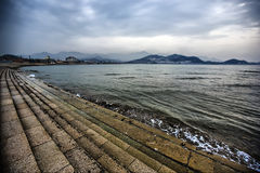 Beach city Stock Image