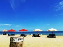 Beach city. Legian beach Indonesia royalty free stock image