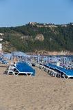 Beach of Cleopatra, Antalya, Turkey Royalty Free Stock Images
