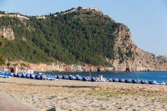 Beach of Cleopatra, Antalya, Turkey Royalty Free Stock Photo