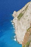 Beach cliff on the sea coast Royalty Free Stock Photo