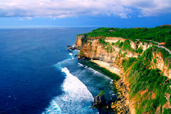 Beach Cliff, Uluwatu stock photos