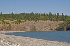 Beach Cliffs Royalty Free Stock Image