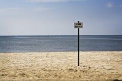 Free Beach Closed Sign, Gulf Coast Stock Photo - 16086300