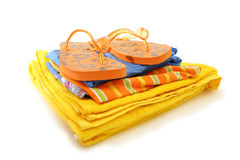 Beach clothes Royalty Free Stock Photos