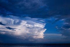 Beach, Cloud, Formation Royalty Free Stock Images