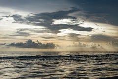 Beach, Clouds, Dark Stock Photos